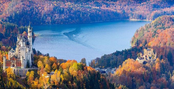 Bavaria, Đức - Nơi có đến 25 tòa lâu đài và cung điện