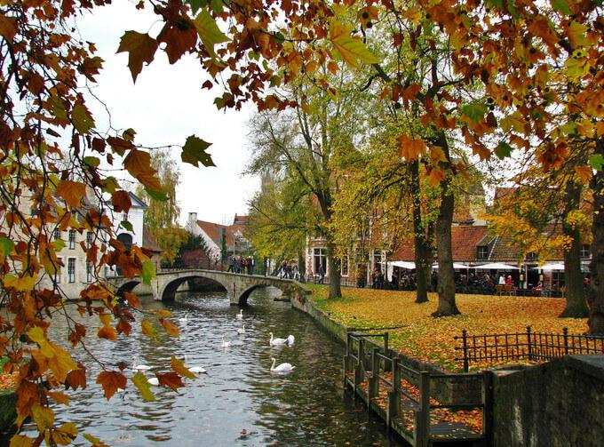 Bruges - nơi được mệnh danh là Venice của phương Bắc