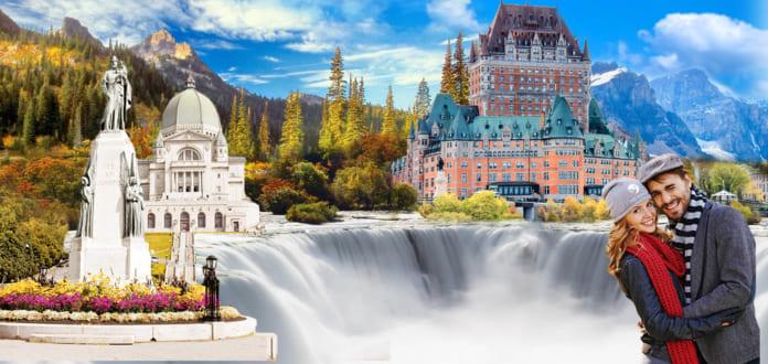 Canada rất được thiên nhiên ưu ái khi sở hữu rất nhiều những địa điểm du lịch hàng đầu